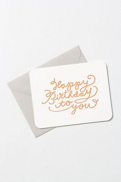 Greeting card design, via Anthropologie
