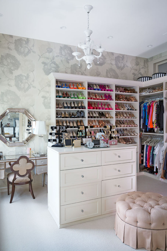 Master Closet - remember how important to Bethenny?! photo: Joe Standart, Traditional Home