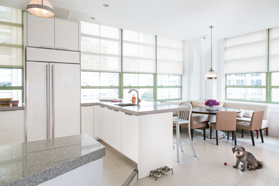 Loft kitchen, photo: Joe Standart, Traditional Home