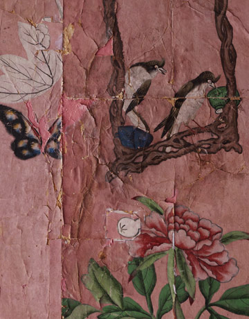 Wallpaper detail, photo: House Beautiful
