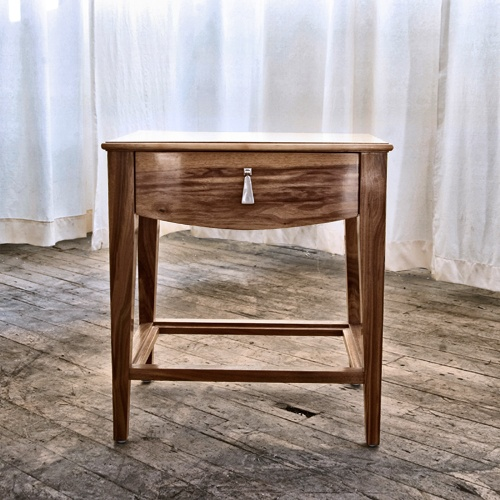 Side Table no. Twelve, in Natural Walnut (60% OFF) Retail Price: $2,125 / Sale Price: $850